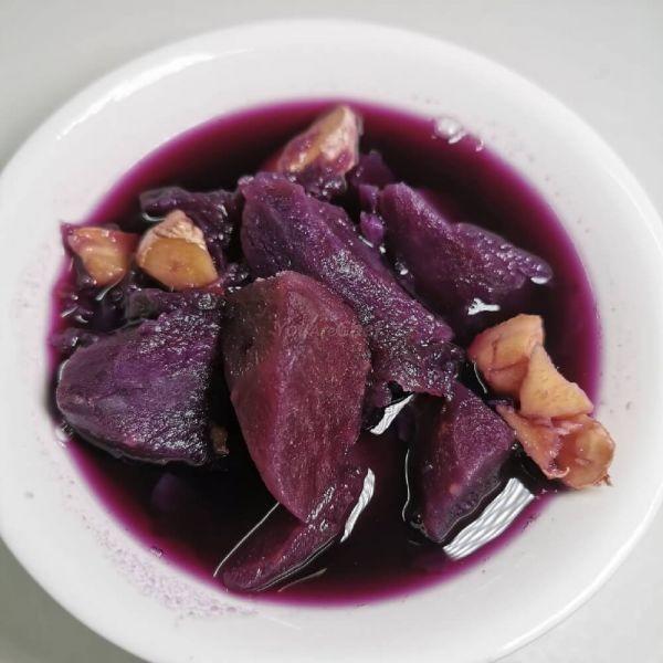 薑味紫蕃薯 糖水