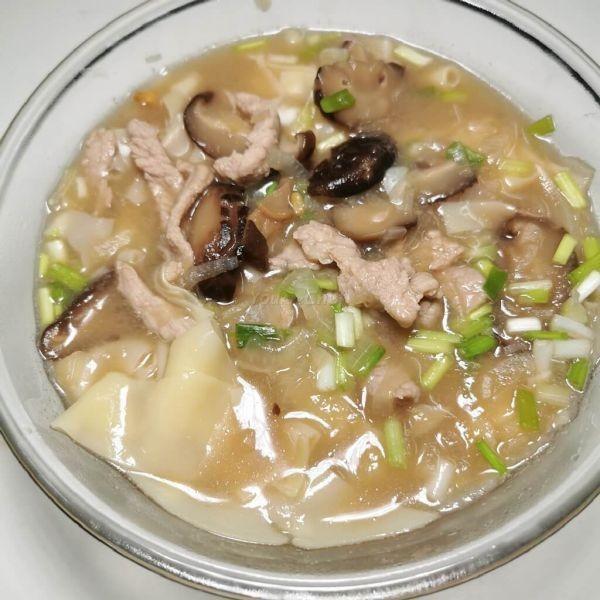 蝦醬冬菇肉絲