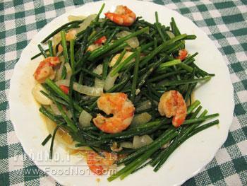 chives-fried-shrimp