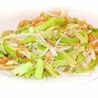 銀芽蝦干炒三絲