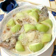 葫蘆瓜桂魚粉絲湯