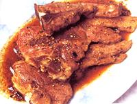 胡椒豉油煎羊扒