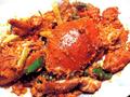 蒜茸醬焗肉蟹