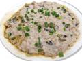 土魷蒸肉餅