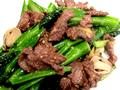芥蘭炒牛肉