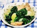 白菜雞骨湯