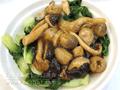 三菇扒小白菜
