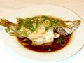 青蒸桂花魚
