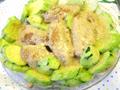 翠玉瓜炒雞翼