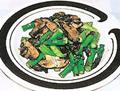 露筍炒鮮菇