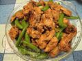 四季豆炒雞