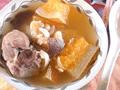 哈蜜瓜百合瘦肉湯