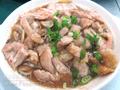 咸蝦醬蒸豬肉