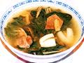 金銀菜排骨湯