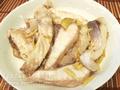 薑絲炒鯇魚腩
