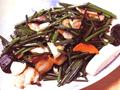 鹹肉炒韭菜花