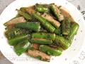 魚肉煎尖椒