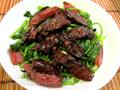 鴛鴦腸炒菠菜