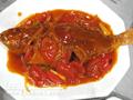 蕃茄煎煮黃花魚